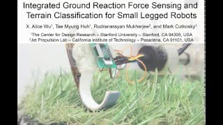 Tactile Sensing For Small Legged Robots - Bipedal Running Experiments