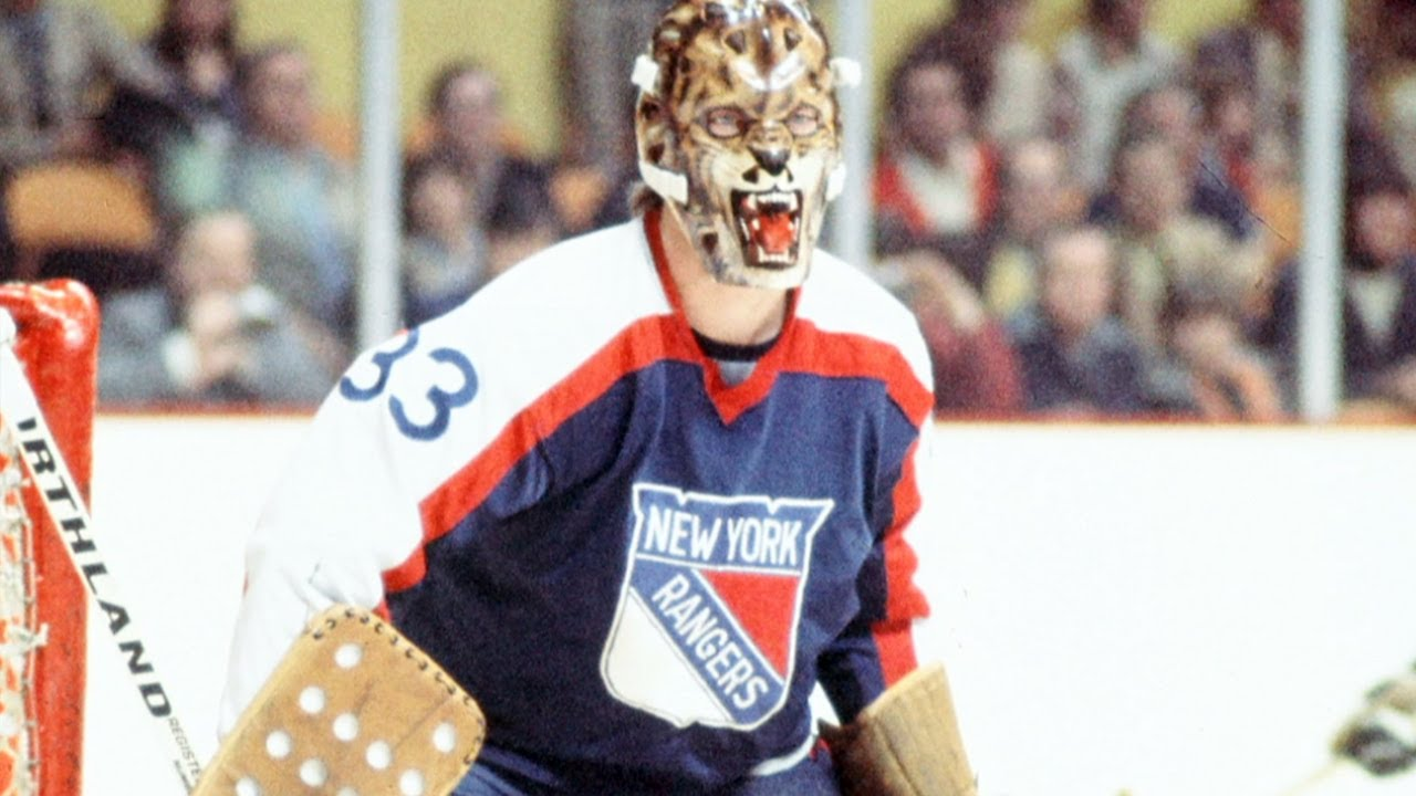 Scariest NHL goalie mask: Gilles Gratton - YouTube
