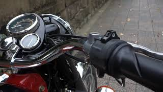 Royal Enfield 綺麗なアイアンブリット350 詳細動画