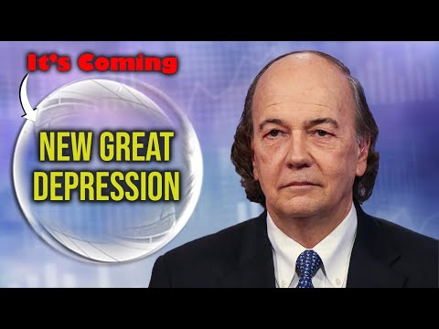 Jim Rickards: New Great Depression Is Coming (30 Year Recovery)