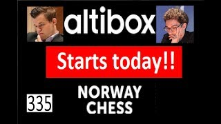 Norway Chess 2018 starts today!