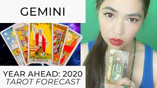 YEAR AHEAD 2020: GEMINI (LIVE TAROT READING) by RJ Marmol | TheWokeWay.org