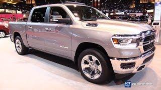 2019 Dodge RAM 1500 Big Horn - Exterior and Interior Walkaround - 2018 Chicago Auto Show
