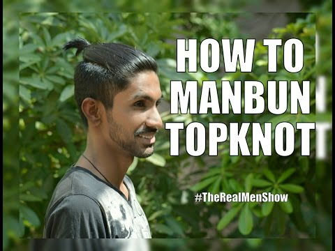 how-to-do-a-topknot/manbun/undercut-with-medium-hair's-|-therealmenshow★