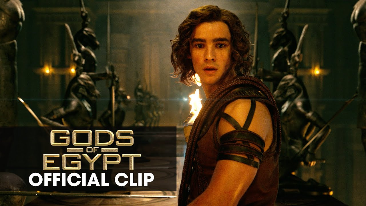 "Gods of Egypt (2016 Movie - Gerard Butler) Official Clip – ""The Eye"""