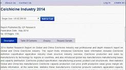 Colchicine Industry 2014