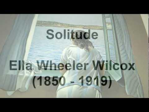 Solitude by Ella Wheeler Wilcox (read by Tom O'Bedlam)
