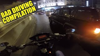 Bad Driving Compilation #1- Motovlog