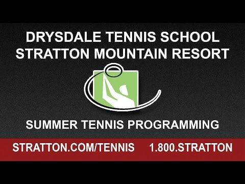 Enjoy Tennis This Summer Green-Mountain Style!