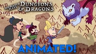 SourceFed D&D S2E1&2 Animated!
