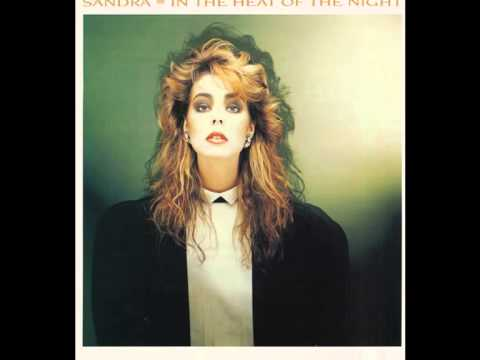 1985. IN THE HEAT OF THE NIGHT. SANDRA. EXTENDED VERSION.