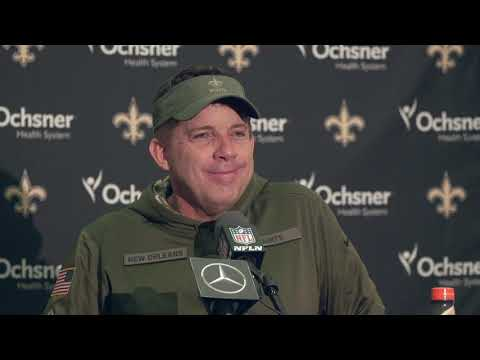 See what Sean Payton had to say after beating Eagles