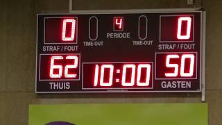12 january 2019 Green Eagles MSE1 vs Rivertrotters MSE2 80-70 3rd period
