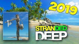 НОВЫЙ ОСТРОВ - ОХОТА НА ЗМЕЙ - ВЫЖИВАНИЕ В - Stranded Deep 2019 #2