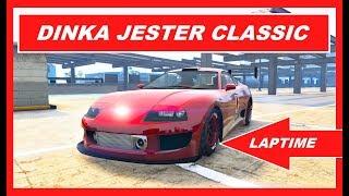 GTA 5 Online NEW CAR Jester Classic VS Comet SR & more , FASTEST Laptime Speed