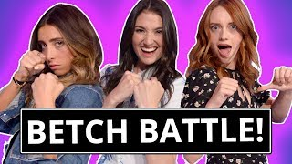 BETCH'S Lauren Elizabeth vs Maddy Whitby vs Monica Sherer| Tap That Awesome App