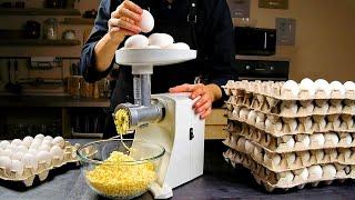 계란 산과 고기 분쇄기! 농장 레시피는 전 세계에 큰 …