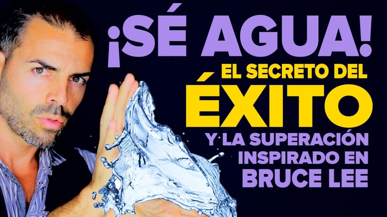 90aa963aa Sé agua  el secreto del éxito y la superación inspirado en Bruce Lee ...