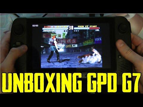 UNBOXING TABLET GAMING BLAZE/ GPD G7 (SPANISH)