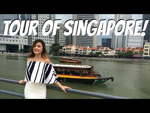 SINGAPORE TOUR | River Cruise + Walking Around China Town! The Travel Breakdown