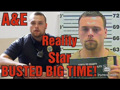 A&E BEHIND BARS-ROOKIE YEAR STAR GETS ARRESTED AT JAIL!