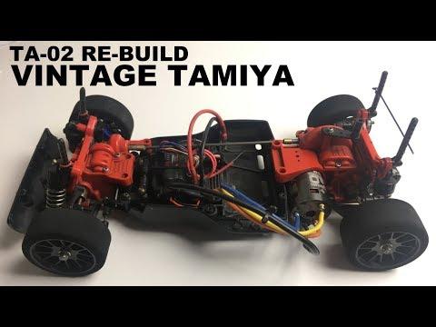 Tamiya TA-02 Tuning and Test Drive - YouTube