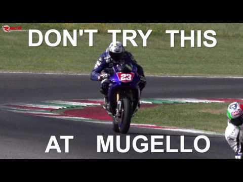 Don't Try This at Mugello - Curve Biondetti di traverso by Luca Salvadori