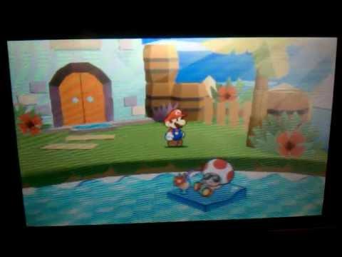 Paper Mario Sticker Star - Part 11 - World 2-4: Damp Oasis / Tablet