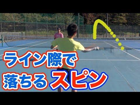 【フォアハンド】スピンボールで安定したショットを打つ方法