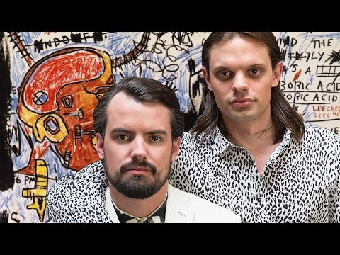 The Haas Brothers Challenge Art Basel + Art/Design Power Nexus - Harper Simon's TALK SHOW