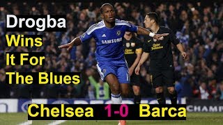 Chelsea vs barca 2012 champions league - semi final 1st leg. score : 1-0 thanks for watching! do not forget to subscribe ucl classic htt...