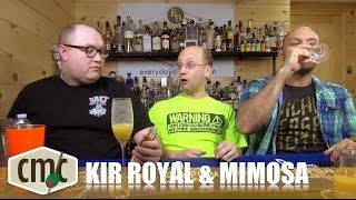 Mimosa / Buck Fizz & The Kir Royal, Champagne Cocktails