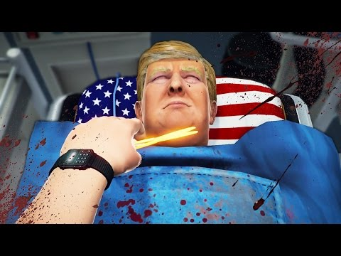 WOULD YOU DO IT?? | Surgeon Simulator Trump DLC