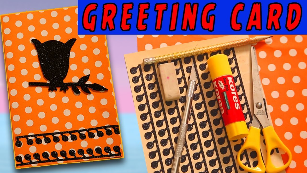 Diy greeting cards for halloween halloween card design diy greeting cards for halloween halloween card design handmade greetings kristyandbryce Images