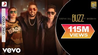 buzz   lyrics video   aastha gill feat badshah   priyank sharma