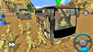 Army Bus Driver 2021: Real Military Coach Bus Simulator - Android gameplay screenshot 5