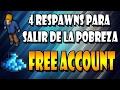 4 MEJORES RESPAWNS PARA SACAR DINERO   Free Account - Tibia (ESP)