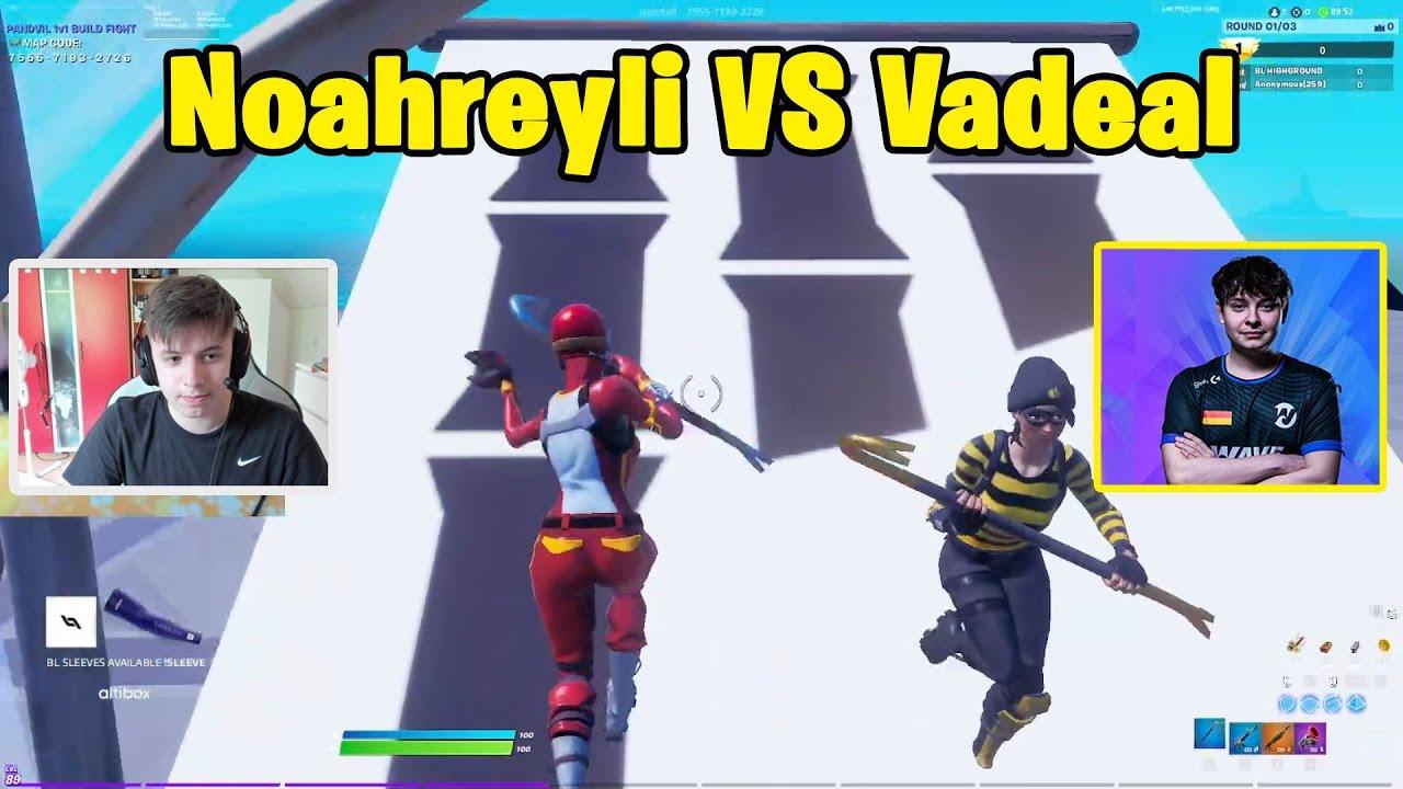 Noahreyli VS Wave Vadeal 1v1 Buildfights! - Fortnite 1v1