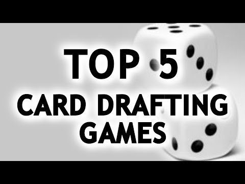 Top 5 Card Drafting Games | TALKIN TBLE TOP