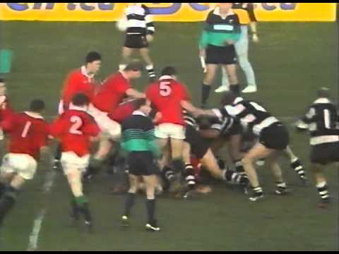 1993 Rugby Union match: Hawkes Bay vs British and Irish Lions (highlights)