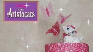 Marie Cat fondant tutorial - Come fare un gattino in pasta di zucchero