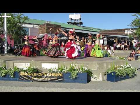 Blue Diamonds and Brazen Tassel Belly Dance @ Oakland Dance Festival 2017