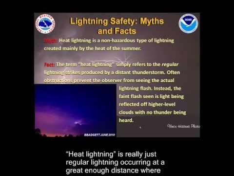 Lightning Safety and Myths