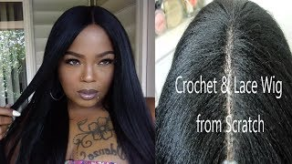 (BEST)  CROCHET WIG & LACE CLOSURE FROM SCRATCH/ FEATURING SEN…