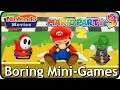 Mario Party 9 - All Boring Mini-Games (2 Players)