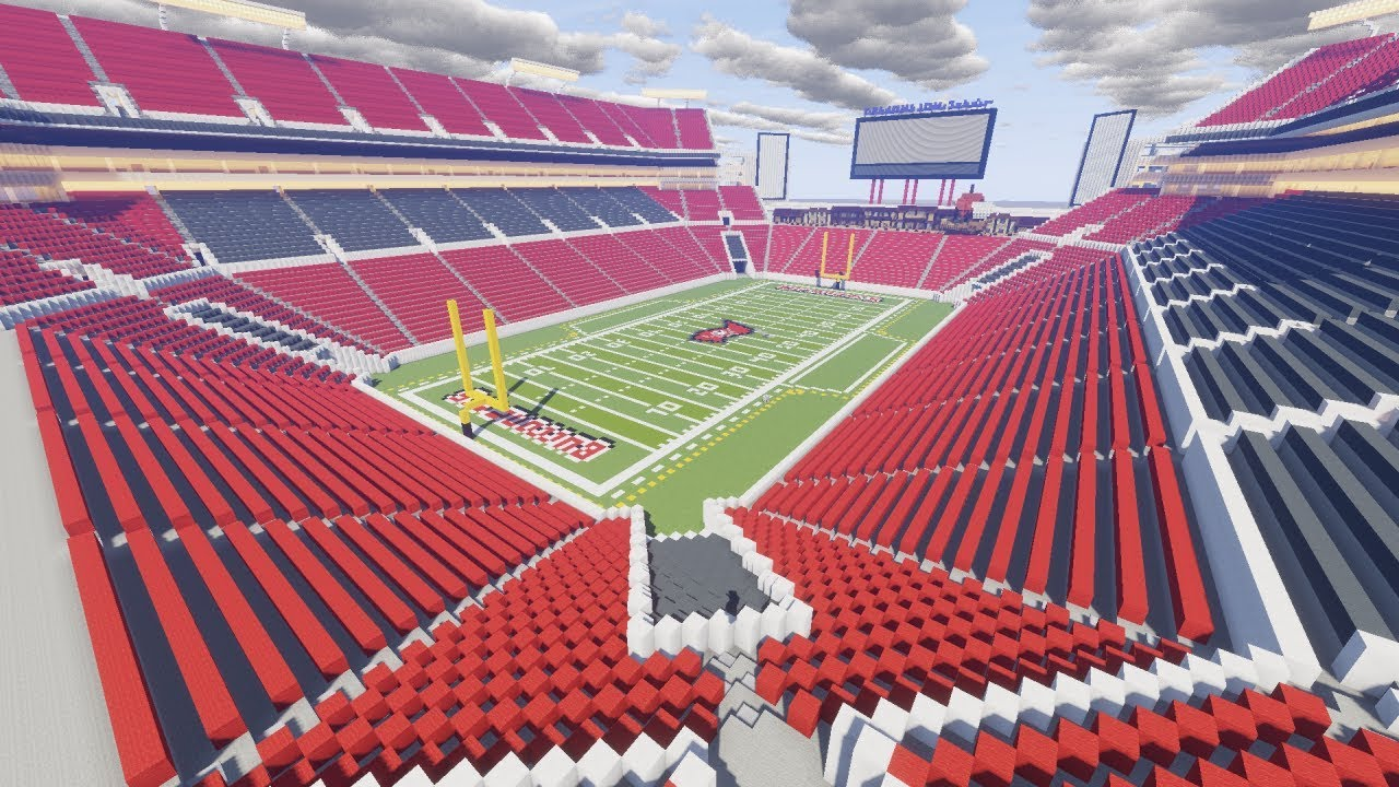 Minecraft Raymond James Stadium Tampa Bay Buccaneers Timelapse Download Thecraftcrusader Youtube
