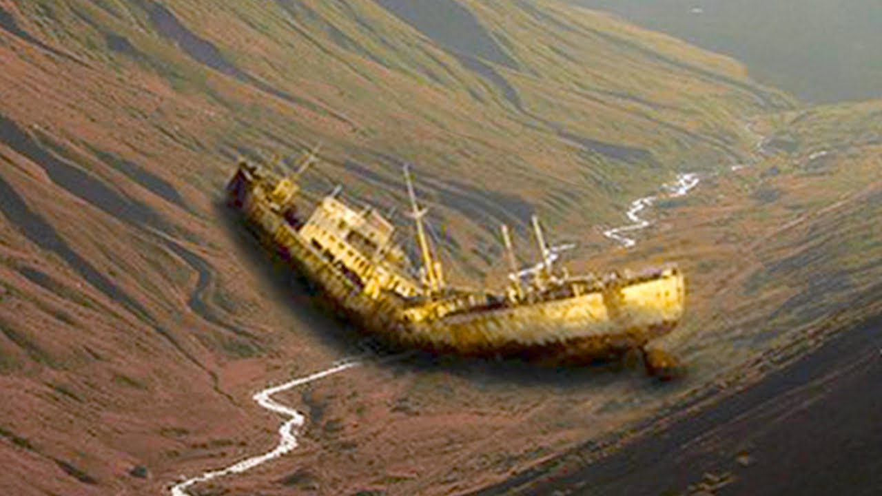 A Ship from the Bermuda Triangle Reappears in the Desert 90 Years Later