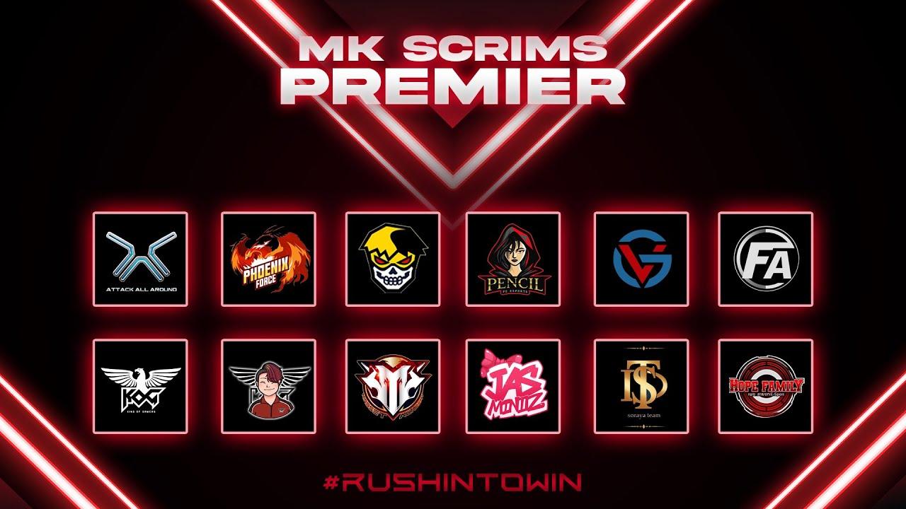 Free Fire : MK PREMEIR SCRIMS DAY5 WEEK15 ห้องซ้อม No.1 ประเทศไทย