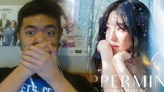 My reaction to Peppermint by Tiffany Young (No talking)