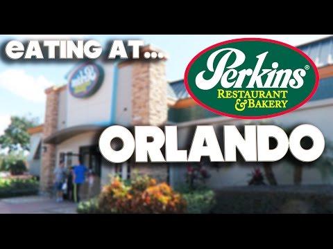 EATING AT - PERKINS RESTAURANT & BAKERY - ORLANDO